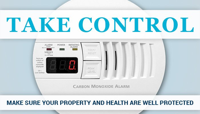 Take control – make sure your property is well protected