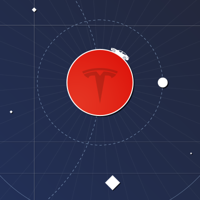 Why did Elon Musk send a Tesla Roadster to Mars?