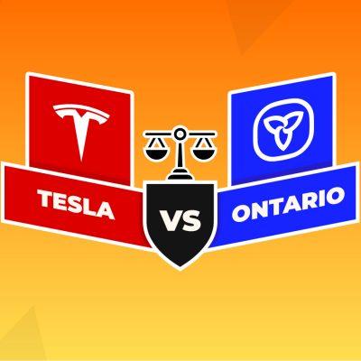Ontario Pulls the Plug on EV Rebates, Tesla Sues