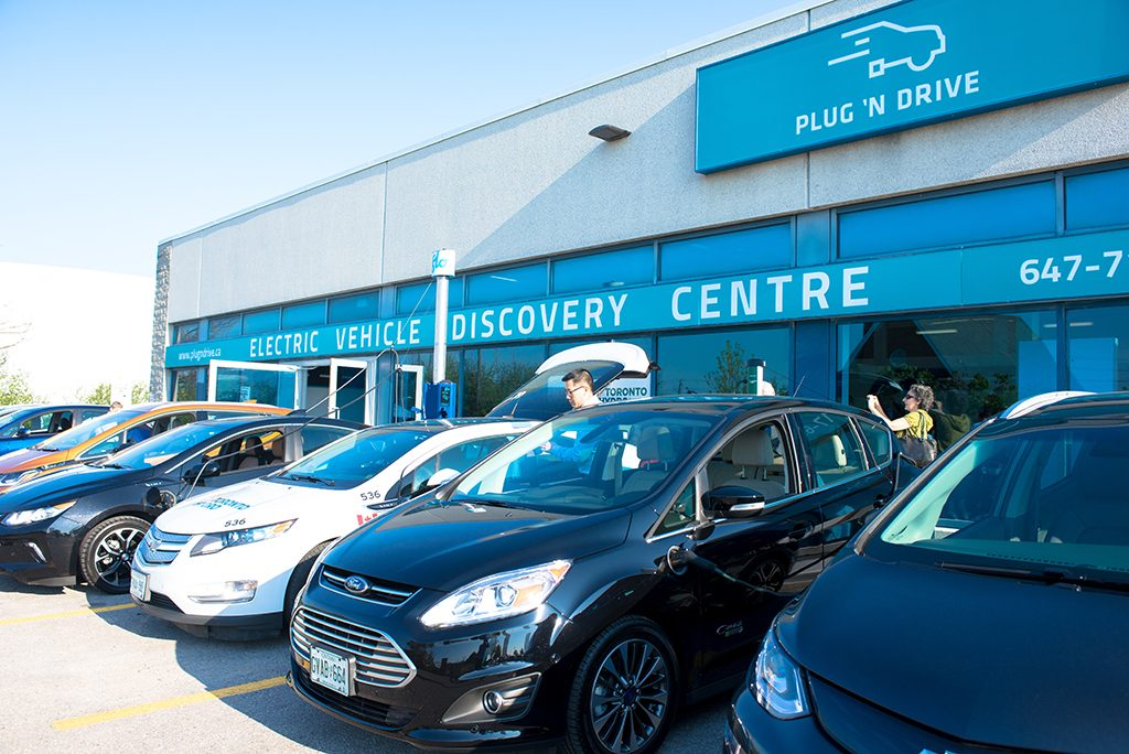 Plug n Drive EV discovery centre