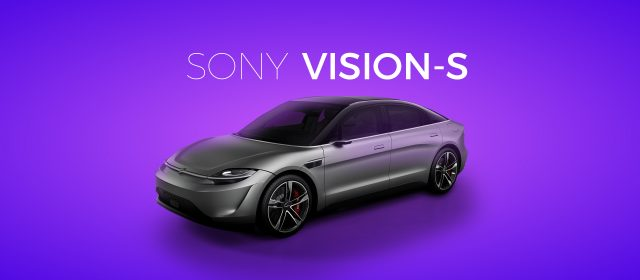 The Future of Driving with Sony Vision-S Concept Car