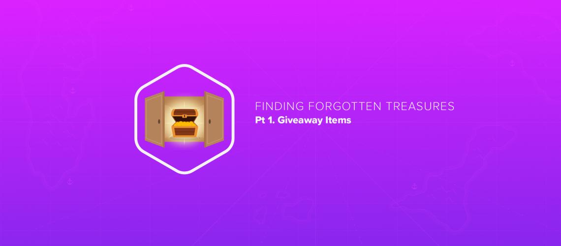 Finding Forgotten Treasures, pt 1: Giveaway