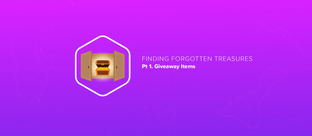 Finding Forgotten Treasures, pt 1: Giveaway